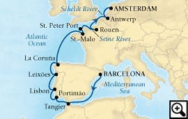 14-day harbors of western europe