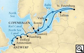 14-day baltic gems and russia