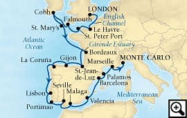 24-day atlantic harbors and iberian gems
