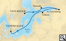 7-day st. petersburg & the baltic