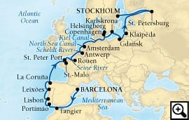 26-day europe & baltic splendors