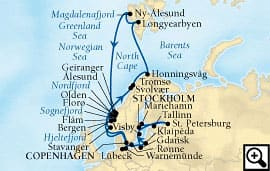 33-day midnight sun & baltic voyage
