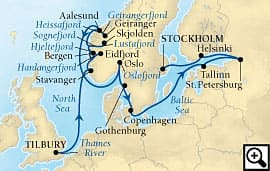 19-day northern european sojourn