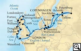 29-day baltic capitals and british isles