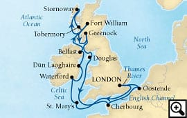 15-day route of britannia