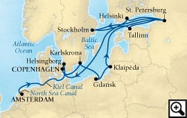 19-day baltic capitals & st petersburg