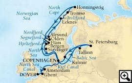 26-day north cape & baltic grandeur