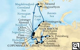 33-day baltic & midnight sun adventure