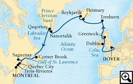 21-day route of the vikings
