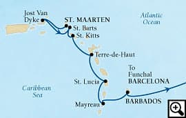 20-day yachtsman's caribbean and crossing