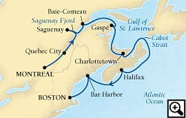 10-day canadian maritimes and new england