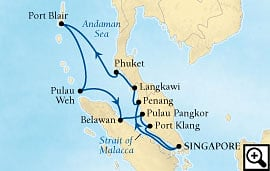14-day holiday andaman sea adventure