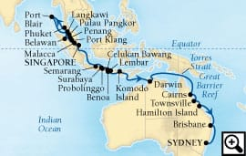 38-day andaman sea and australia