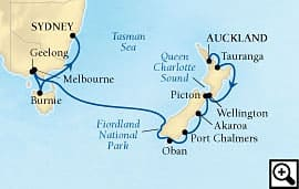 16-day australia and new      zealand odyssey