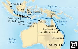 26-day java, bali and australia