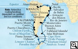 41-day antarctic to the amazon