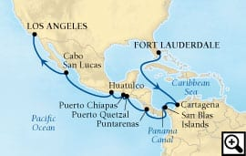 18-day holiday panama canal