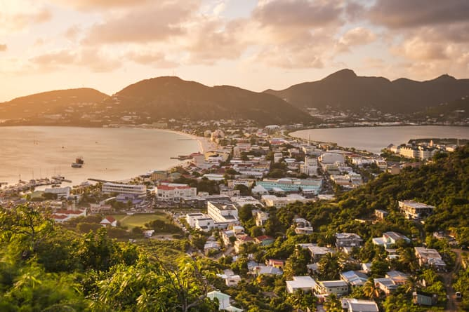 City of St. Thomas -- Ultra-Luxury Cruises Seabourn