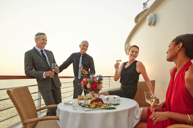 Transatlantic -- Ultra-Luxury Cruises Seabourn