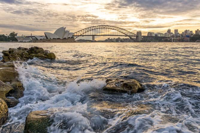 Sydney Opera House -- Ultra-Luxury Cruises Seabourn