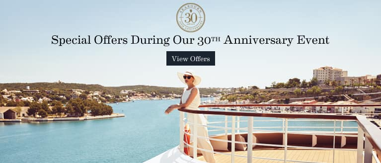 30th Anniversary Event! -- Ultra-Luxury Cruises Seabourn