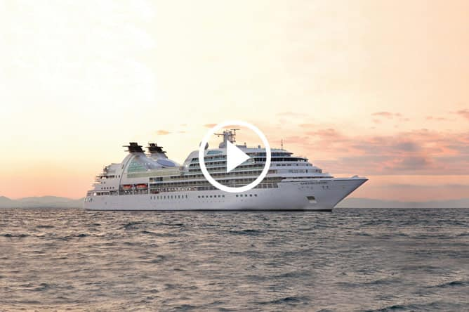 Seabourn Sojourn Video Tour (02:48) -- Ultra-Luxury Cruises Seabourn